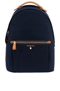 Темно-синий рюкзак Nylon Kelsey Michael Kors