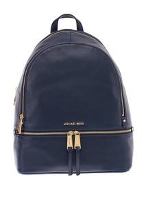 Синий рюкзак Rhea Zip Michael Kors