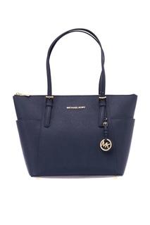Синяя сумка Jet Set Item Michael Kors