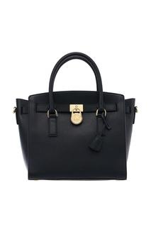 Черная сумка с отделкой Hamilton Michael Kors