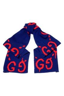 Шерстяной шарф Gucci
