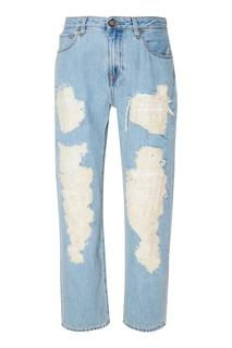 Голубые джинсы Vivienne Westwood Anglomania
