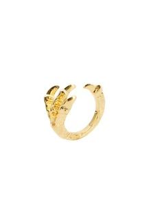 Золотистое кольцо Pamela Love