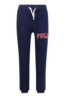 Синие брюки с аппликацией Ralph Lauren Children