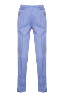 Голубые брюки с лампасами Zasport