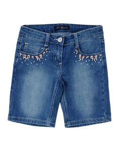 Джинсовые бермуды Miss Blumarine Jeans