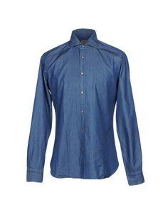 Джинсовая рубашка Barba Napoli