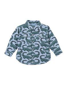 Джинсовая рубашка Stella Mc Cartney Kids