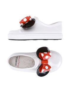 Низкие кеды и кроссовки Mini Melissa