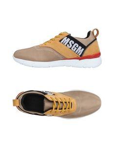 Низкие кеды и кроссовки Msgm