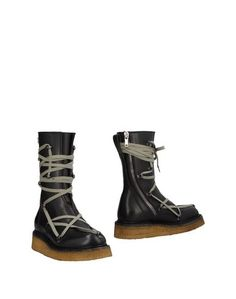 Полусапоги и высокие ботинки Rick Owens