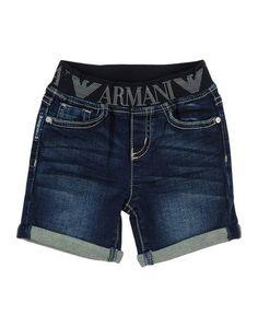 Джинсовые бермуды Armani Junior
