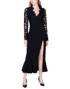 Длинное платье David Koma