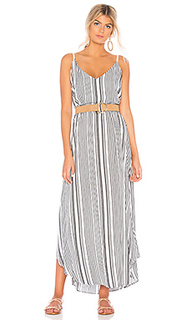 Макси платье cabana stripe - Michael Stars