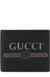 Кожаное портмоне с отделениями для кредитных карт Gucci