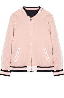 Двусторонняя куртка-бомбер с вышивкой Chloé