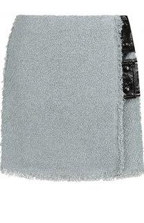 Мини-юбка фактурной вязки из смеси вискозы и льна Sonia Rykiel