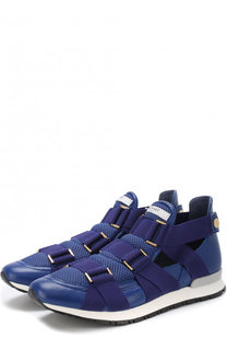 Комбинированные кроссовки с ремешками Vionnet