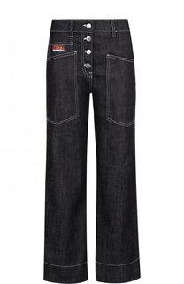 Укороченные джинсы прямого кроя Kenzo