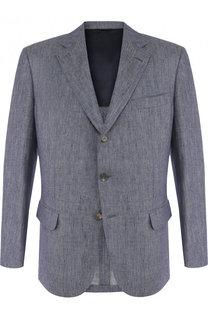 Однобортный льняной пиджак Loro Piana