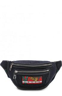 Текстильная поясная сумка на молнии Kenzo