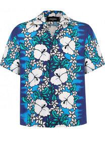 Рубашка с короткими рукавами и воротником кент Dsquared2