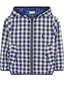 Двусторонняя куртка на молнии с капюшоном Ralph Lauren