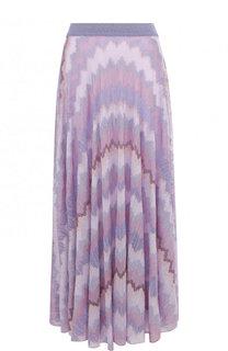Вязаная юбка-миди с металлизированной нитью Missoni