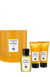 Набор Colonia: Одеколон + Гель для душа + Крем для тела Acqua di Parma