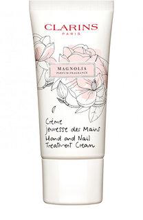 Крем для рук Jeunesse des Mains с ароматом магнолии Clarins