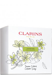 Парфюмированное крем-мыло Savon Creme Jasmin Clarins