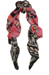 Платок из смеси хлопка и шелка Givenchy