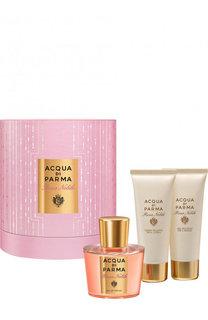 Набор Rosa Nobile: Парфюмерная вода + Крем для тела + Гель для душа Acqua di Parma