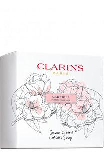 Парфюмированное крем-мыло Savon Creme Magnolia Clarins