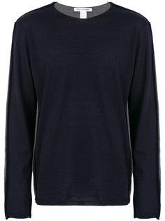 двухцветный джемпер Comme Des Garçons Shirt
