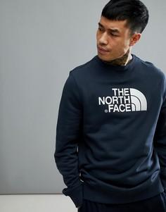 Темно-синий свитшот с круглым вырезом The North Face Drew Peak - Темно-синий
