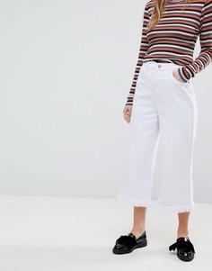 Укороченные джинсы Glamorous - Белый