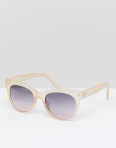 Солнцезащитные очки кошачий глаз в прозрачной оправе 7X - Очистить