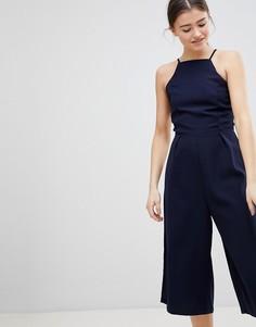 Комбинезон с широкими штанинами Glamorous - Темно-синий