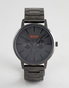 Темно-серые часы с хронографом BOSS Orange 1550068 Copenhagen - Серебряный