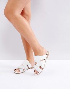Кожаные сандалии H by Hudson - Белый