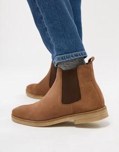 Замшевые ботинки челси Walk London Hornchurch - Рыжий