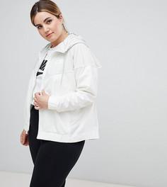 Ветровка Nike Plus - Кремовый