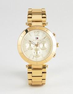 Часы с хронографом Tommy Hilfiger 1781878 - 38 мм - Золотой