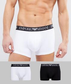 Набор из 2 боксеров-брифов средней длины Emporio Armani - Мульти