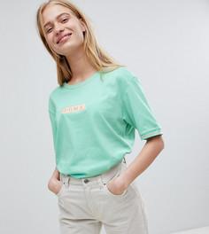 Oversize-футболка из органического хлопка Puma Exclusive - Зеленый