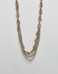 Ожерелье в несколько рядов DyrbergKern - Золотой