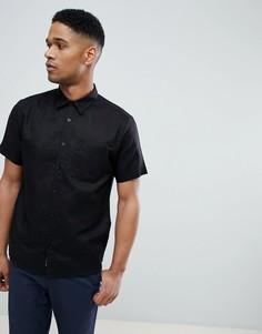 Черная рубашка с короткими рукавами Bellfield - Черный