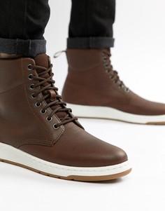 Коричневые ботинки Dr Martens Rigal - Рыжий