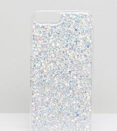 Чехол для iPhone Plus 6/7/8/s с блестками Skinnydip Carnival - Мульти